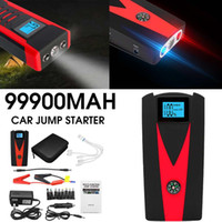 Wholesale mobile charger led for sale – best LED Waterproof mAh USB Car Jump Starter Power Bank A Portable Car Mobile Battery Charger V Starting Device