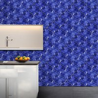 Wholesale sticker tiles for kitchen resale online - To Deeply Into All Things Subsidies A Living Room Kitchen Toilet Thickening Waterproof Land Subsidies Tile Wall Stickers Dx005
