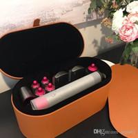 multi curler venda por atacado-Top Quality DYS Cabelo Curler Multi-função Hair Styling Dispositivo Curling Iron 8 Gift Box automático da cabeça Hottest 24 Horas transporte rápido