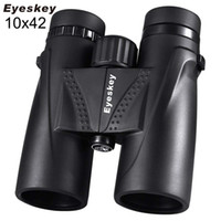 jumelles zoom à l'eau achat en gros de-Jumelles 10X42 Télescope de chasse pour camping professionnel étanche Zoom Optique prisme Bak4 avec dragonne pour jumelles