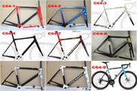 Wholesale pink carbon fibre for sale - Colnago C64 frame road bike Frame carbon bicycle Matte glossy carbon road frame cm mm cm cm cm