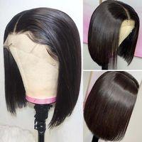 Wholesale curl wigs resale online - LULU Curl Virgin Human Hair Human Hair Wig Hot Selling Pixie Curl Human Hair Lace Wig