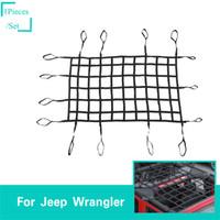 Cargo Net Hardware Kit Car Rear Tunk Envelope Cargo Net Tie Down Hanging Hook Ring Loop Kit Car Clips Bungee Shock Cord Hook