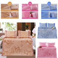 kühlkissenauflage großhandel-Atmungsaktive Ice Silk Matratze für Schlafkrippen Machen Sie Ihren fantastischen Sommerkühlkissen mit Kissen