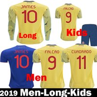 b38d981a7 Wholesale colombia shirt for sale - 2019 Colombia Copa America soccer  jerseys Kits Kids colombia Camiseta