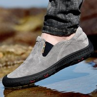 Wholesale mens safety shoes for men for sale - Group buy Genuine Leather Mens Safety Shoes Steel Toe High Quality Pigskin Upper Rubber Sole Loafers Tooling Outdoor Shoes for Men US11 US12 US13
