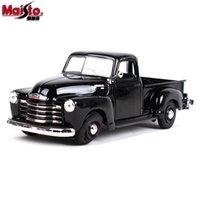 ingrosso doni chevrolet-Maisto Alloy Model Model Toy, 1950 Chevrolet 3100 Pick-up Truck, Retro Classic Car, per Party Kid 'Birthday' Gift, Collezionismo, Decorazione della casa