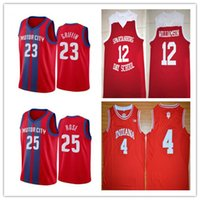 Wholesale indiana hoosiers jersey for sale - Group buy MOTOR City Blake Griffin Derrick Rose Indiana Hoosiers Victor Oladipo College Basketball Jerseys