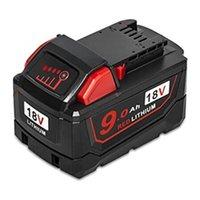 tableros de carga de la batería al por mayor-M18 9Ah Carcasa de la batería Caja de plástico Placa de circuito de protección de carga PCB Para Milwaukee 18V 1.5Ah 3.0Ah 9.0Ah Caja de batería
