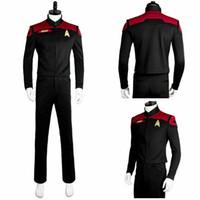 Wholesale full tv online for sale - Group buy Star Trek Online Final Decision Cosplay Uniform Costume Jacket Pants Full Set