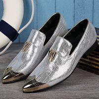 мужские золотые мокасины оптовых-Sapato social men shoes leather slipon  gold tassel mens loafers dress shoes fashion casual shoe lasts