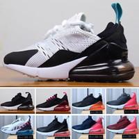 tênis infantil venda por atacado-Nike air max 270 27c Crianças 2018 Novos Sapatos de Corrida Infantil Run designer shoes Crianças esportes sapato ao ar livre luxry Tênis huaraches Formadores Kid Sneakers