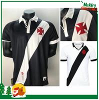 xl maxi gömlek toptan satış-19 20 Brezilya Vasco da Gama Futbol Formaları MAXI Y. PIKACHU A.RIOS PAULINHO FABIANO MURIQ Özel 2019 2020 Ev Yol Siyah Beyaz Futbol Gömlek