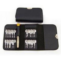 tabletler için kitler toptan satış-Sıcak 25 1 Evrensel Torx Tornavida Onarım Aracı Seti Tamir iPhone Cep Telefonu Tablet PLD Için Açılış Araçları Kiti
