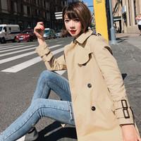 Wholesale korean high quality clothes resale online - EWQ Autumn New Korean Fashion Clothing Long sleeved High Quality Fashion Casual Women Coat Loose Modern Lady Jacket QK034