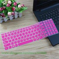 lenovo ideapad clavier achat en gros de-Peau de couverture de clavier protecteur en silicone de 15,6 pouces pour Lenovo Ideapad G510 G50-80 Y50-70 700 V4000 Y50P-70 Z500 G580 Y510P