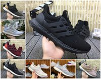 ultra-boost 4.0 venda por atacado-Alta qualidade 2020 Ultra impulsiona Sports Shoes 3.0 4.0 Stripe Womens Mens Balck branco Oreo Sneakers Ultraboosts estática 3M Formadores Sapatos 36-45