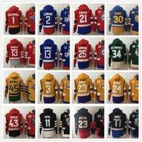 mavi sarı hoodie toptan satış-Ucuz Toptan Dikişli Kapüşonlular Jersey Üst Kalite Beyaz Mavi Sarı Kırmızı Yeşil Erkek Hoodie fiyatı ekleyin, Özel'i Kabul