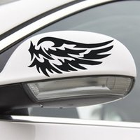Wholesale wing car body sticker resale online - Reflective Car Stickers Funny Wings For Windows Laptop Skateboard Pad Bicycle Motorcycle PS4 Phone Luggage Decal Pvc guitar Stickers