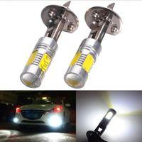 lâmpada led amarela venda por atacado-2 x H1 15 W frio amarelo azul gelo âmbar LED DRL luzes de nevoeiro lâmpada de luz para carros DC12V