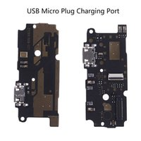 Wholesale micro flex cable resale online - 1pcs USB Micro Plug Charging Port Flex Cable Connector Replacement Parts For Xiaomi For Redmi Note