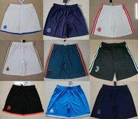 cortos de calidad al por mayor-Shorts de fútbol de calidad psg tailandeses camiseta 2019 2020 Pantalones cortos de fútbol Ajax Pantalones cortos del Real Madrid Marsella griezmann 19 20 Europa