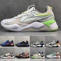 diseñador de zapatos creeper al por mayor-2019 RS-X Reinvention Zapatos para correr Mujer Hombre Zapatillas de deporte Cool Olive Green Fashion Creepers Dad Jogging Sports Designer Sneakers Size 36-45