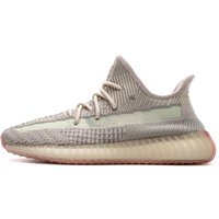 Wholesale zebra sports resale online - 2019 Cloud White Citrin Kanye West Designer Sneakers Bred Black Reflective Zebra Green Glow Lundmark Men Women Sport Running Shoe With Box