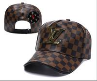 yaz şapkaları erkek toptan satış-2019 Yaz Yeni markalar erkek tasarımcı şapka ayarlanabilir beyzbol kapaklar lüks lady moda polo şapka kemik trucker casquette kadınlar gorras topu kap