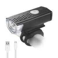 градусный аккумуляторный фонарь оптовых-USB аккумуляторная руль передний свет велосипеда 3 режима велосипед лампа 360 градусов вращающийся Факел смонтировать встроенный аккумулятор