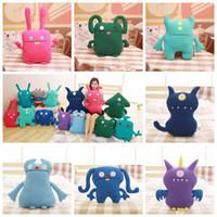 Wholesale plush big toys resale online - 15 Styles cm Uglydolls Big Toe Ox Moxy Uglydog Babo Wage Puglee Uglydoll Stuffed Toys Ugly Doll Plush Toys Novelty Items CCA11617