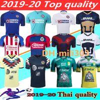 camiseta de fútbol mexico al por mayor-2019 2020 LIGA MX Club América camisetas de fútbol 19 20 Club de Cruz Azul Leon Chivas Guadalajara México puma camisa mujeres de los hombres de fútbol