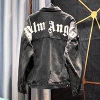 ingrosso sottile giacca di denim-Mens Designer Giacca di jeans di lusso sottili Giacche Uomo nuovo di marca del progettista Giacca di jeans Sport Hip Hop Giacche Sportwear