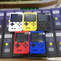 Wholesale handheld video games player resale online - Mini Handheld video Game Console Portable Retro bit MODEL CAN STORE AV Color LCD Game Player For Game