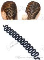 Wholesale magic hair bun roller resale online - Fashion Hair Braiding Braider Tool Roller With Magic hair Twist Styling Bun Maker Hair Braiders for Women Girls