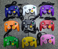 Wholesale game cube controllers resale online - NEW Wired Game Controller Gamepad Joystick for NGC NINTENDO GC Game Cube For Platinum factory price