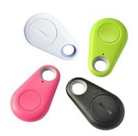 etiquetas bluetooth al por mayor-Hot Keyfinder Wallet Dog Cat niños localizador GPS anti perdida llavero Búsqueda inteligente Bluetooth Tracker Tag itag Buscador de claves