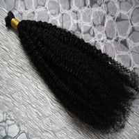 trenzado rizado de 26 pulgadas al por mayor-Cabello humano a granel afro rizado rizado a granel para trenzar 1 paquete de cabello a granel Trenzas de cabello humano de ganchillo de 10 a 30 pulgadas