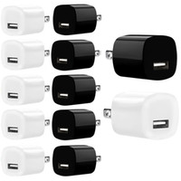 Wholesale mp3 player brands resale online - US Ac home travel wall charger V A mah power adapter for samsung galaxy s6 s7 edge android phone mp3 player