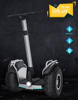 hoverboard de dos ruedas al por mayor-2019 nuevo y potente segway eléctrico bluetooth scooter de dos ruedas Conductor Doble 60V 2400W Off Road grande del neumático de escúter adultos Hoverboard