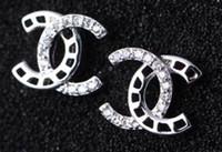 ingrosso gioielli romani di marca-Orecchini in oro rosa placcato in oro 24 carati placcato in oro 24k per le donne Orecchini di alta qualità con marchio di moda G