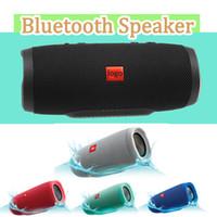 battery bluetooth speaker achat en gros de-JBL Charge3 Charge 3 Haut-Parleur Sans Fil Bluetooth IPX7 Étanche Portable 1200mAh Support de Batterie Power Bank TF Carte Funtion