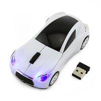 gaming laptops zum verkauf großhandel-Heißer Verkauf Infiniti Q80 Sport Auto Maus GT Supercar Drahtlose Mäuse Led Optische Gaming Computer Maus Für PC Laptop Desktop