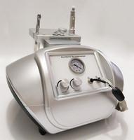 elmas soyma kristal mikrodermabrazyon makinesi toptan satış-2 IN 1 Mikro Kristal Dermabrazyon kristal soyma Dermabrazyon Elmas Peel Mikrodermabrazyon Cilt Rejunvenation Makinası İçin Salon SPA Kullanımı