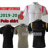 Wholesale polo football for sale - New juve RONALDO soccer polo shirts Thai quality DYBALA MANDZUKIC BONUCCI BERNARDESCHI football Sport Polo training shirt PSG