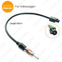 ingrosso adattatore per antenna stereo per auto-Cavo adattatore antenna Leewa all'ingrosso radio stereo da auto per VW / BMW / Audi / Porsche / mini # 1514
