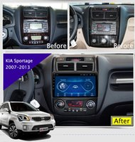 Wholesale super touch tablet for sale - Group buy 9 quot Super Slim Touch Screen Android radio GPS Navigation for Kia Sportage HEAD UNIT tablets Stereo Multimedia Bluetooth car dvd