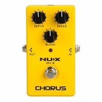 gitarrenpedale nux groihandel-NUX CH-3 Analog Chorus Gitarren-Effekt-Pedal-Chorus-Effekte Pedal Low Noise BBD Schaltung True Bypass freies Verschiffen