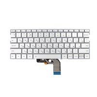 griechische tastatur großhandel-Neue russische Laptop-Tastatur für Xiaomi MI Air 13,3 Zoll 9Z.ND7BW.001 490.09U07.0D01 silberne Tastatur mit Hintergrundbeleuchtung