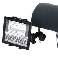 Wholesale headrest mount holder resale online - New Adjustable Car Seat Headrest Mount Holder for iPad Galaxy Tablet